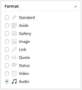 WordPress Video Post Format
